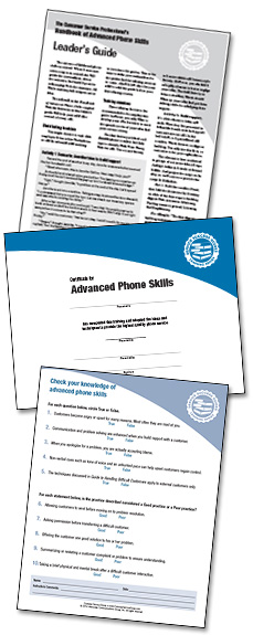 Handbook of Advanced Phone Skills