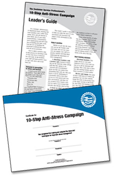 10- Step Anti-Stress Campaign