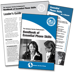 Handbook of Essential Phone Skills
