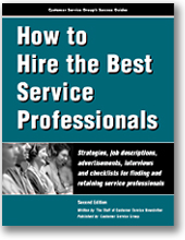 How to Hire the Best Service Professionals