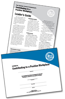 Contributing to a Positive Workplace